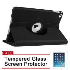 360 Degree Rotation PU Leather Case for Apple iPad 2 / 3 / 4 with Free