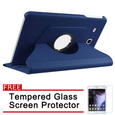 360 Degree Rotation PU Leather Case for Samsung Galaxy Tab 3 Lite 7.0 / T110 /