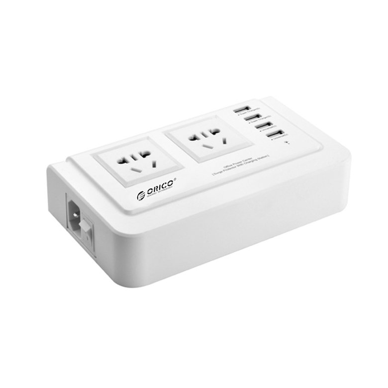 Orico OPC-2A4U Multifunction Digital 4-port USB Charger ( White )