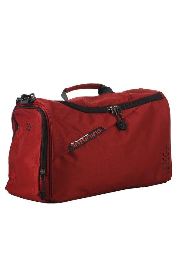 361 Degrees Medium Travel Bag (Red) - thumbnail