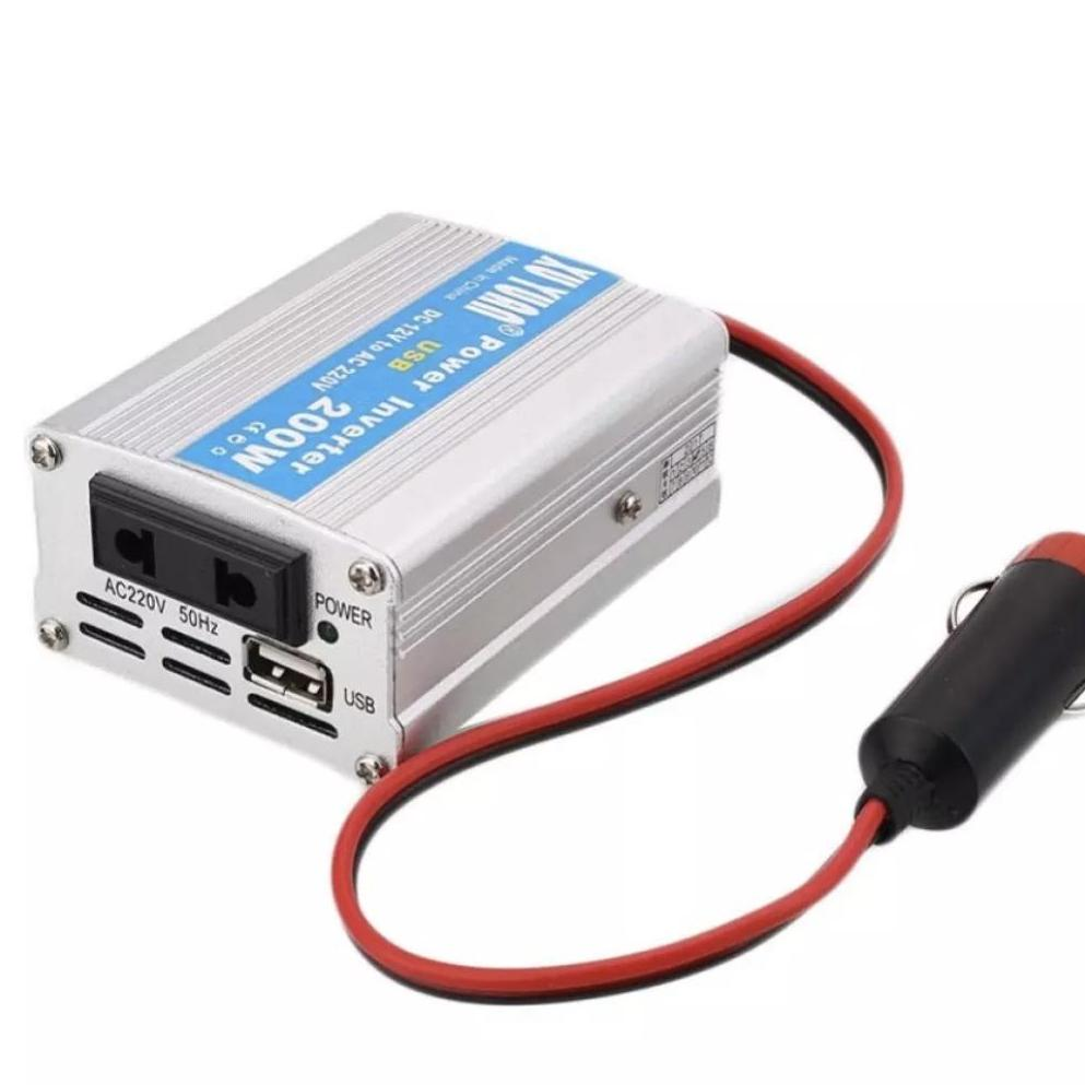 ✅oh 12v Dc To Ac 220v Car Auto Power Inverter Converter Adapter Adaptor 200w Usb-Edison Online Shop By Edison Online Shop.