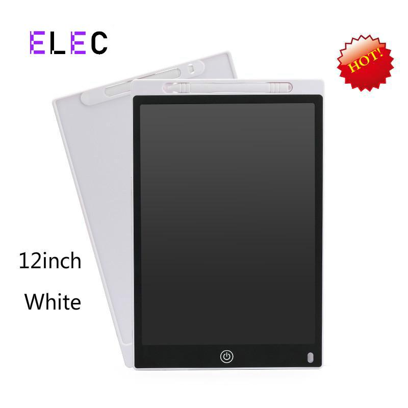 """ELEC 12"""" Electronic Digital Drawing pad Kids Practice Writing Painting Pad LCD Notepad Graphic Board Graphic Panel with Stylus Pen"""