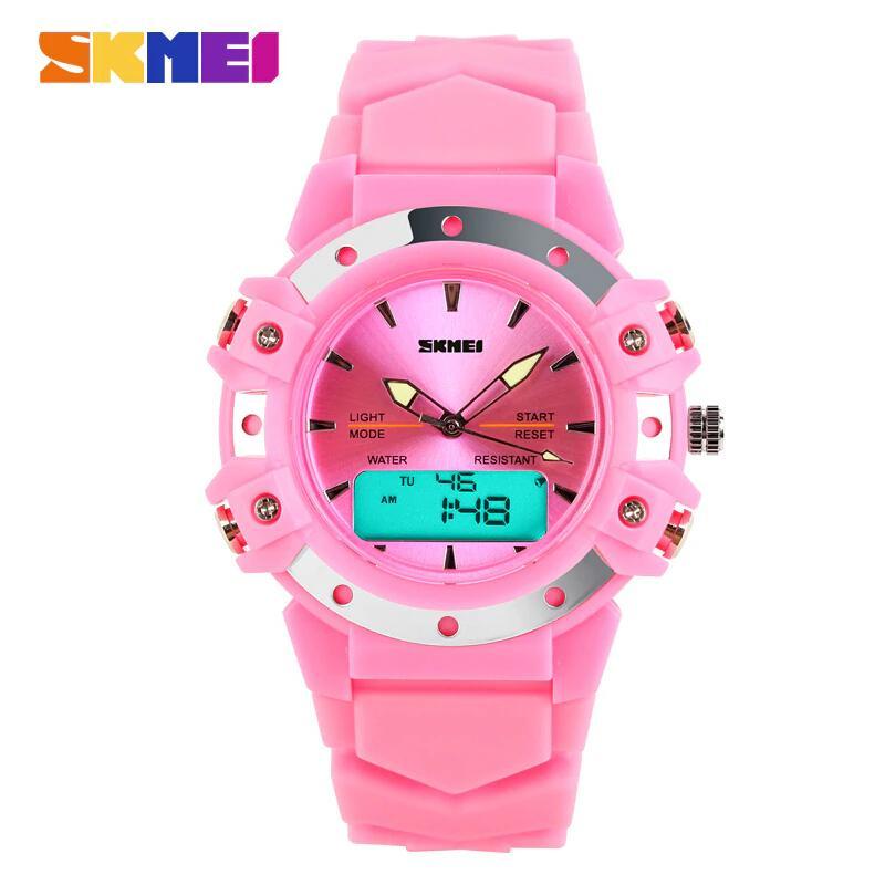164262302 SKMEI sports and leisure watch digital and analog multi-function quartz  watch 30 meters waterproof