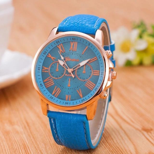 Geneva Celine Watch with Free Watch Box