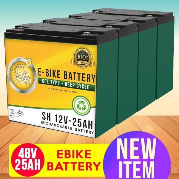 Ebike Battery 48v25ah Compatible W/ 48v20ah By One Point Systems.