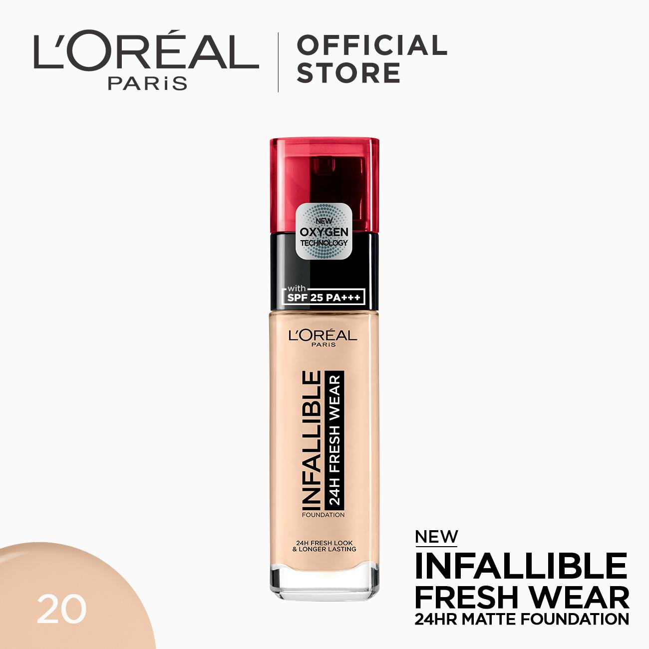 Infallible 24HR Fresh Wear Foundation by LOreal Paris Philippines