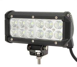 36W Motorcycle LED Light LED Bar - BLACK