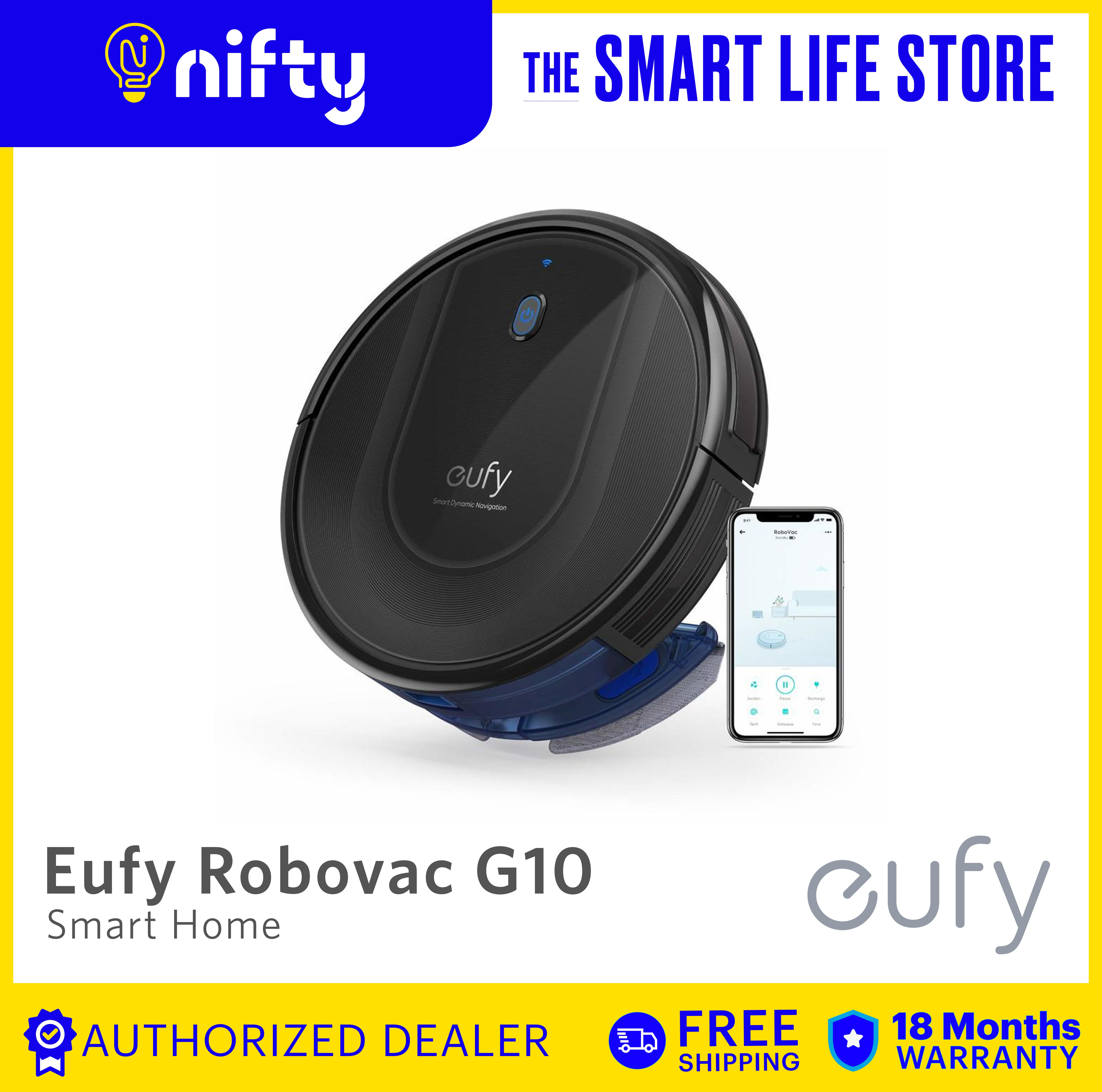 8PCS Side Brush Filter For Eufy Robovac G10 Hybrid Robot Vacuum Cleaner Parts