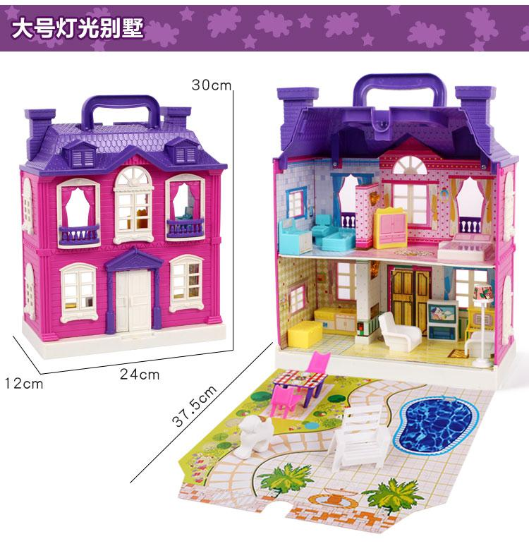Wholesale 1:12 Dollhouse Miniature Mini Poker Card Doll Accessories Furniture Toy Match For Sylvanian Families Collectible Gift Furniture Toys