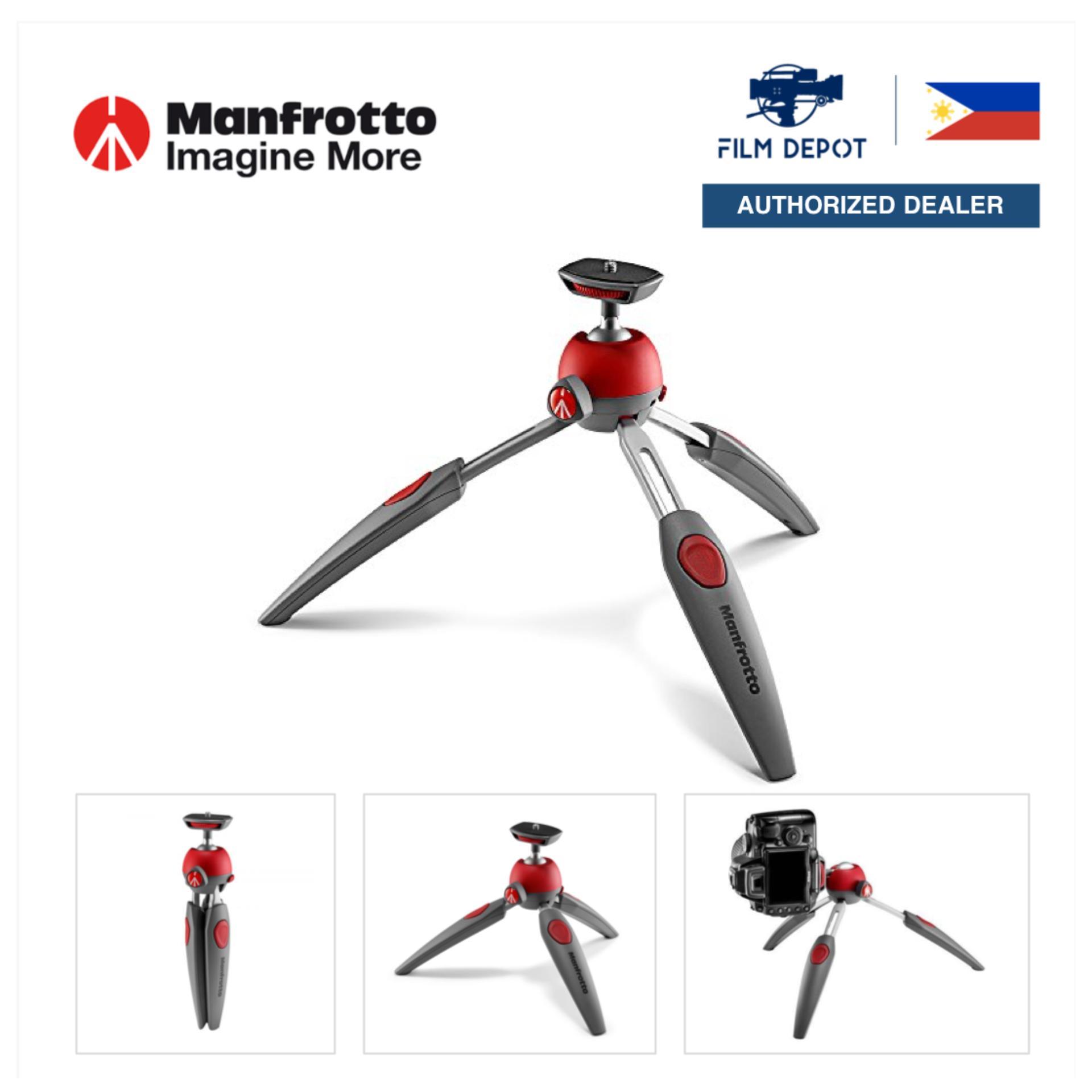 RED Manfrotto MTPIXIEVO-BK PIXI EVO 2 Section Mini Tripod