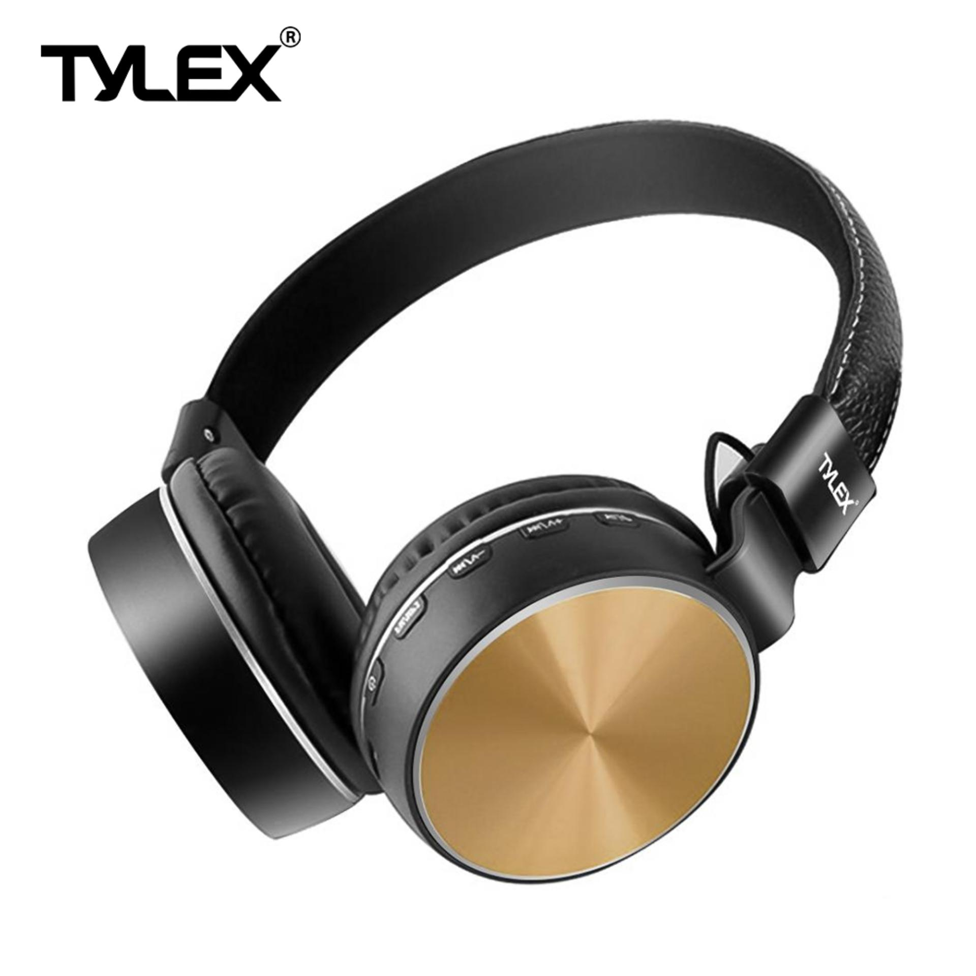 33b53c4395d TYLEX MS-K1 Wireless Stereo Extra Bass Portable Bluetooth On-Ear Headphones  w/