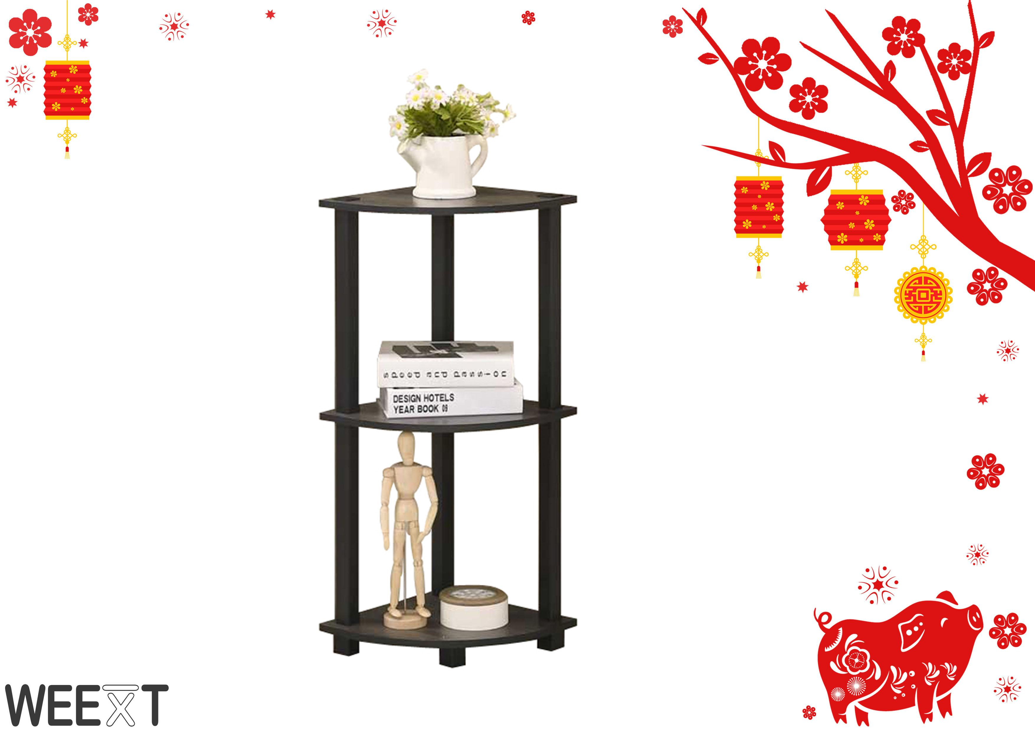 Weext 3 Tier Corner Shelf By Weext Trading Corp Warehouse.
