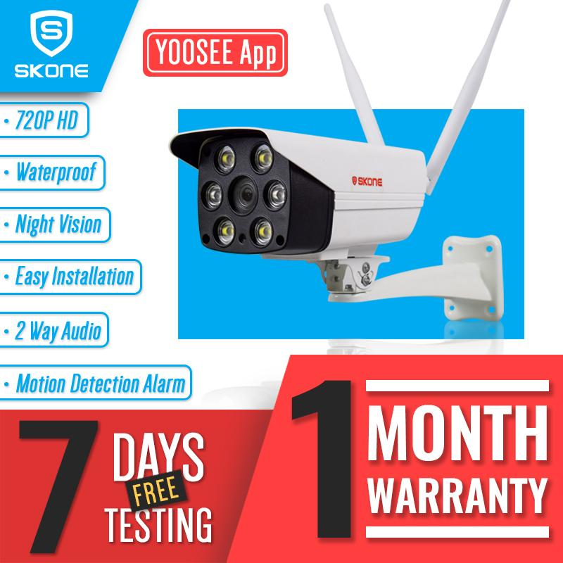 Outdoor IP Camera Yoosee Wireless Waterproof IR HD Night Vision Smart Alarm  P2P CCTV IP Camera