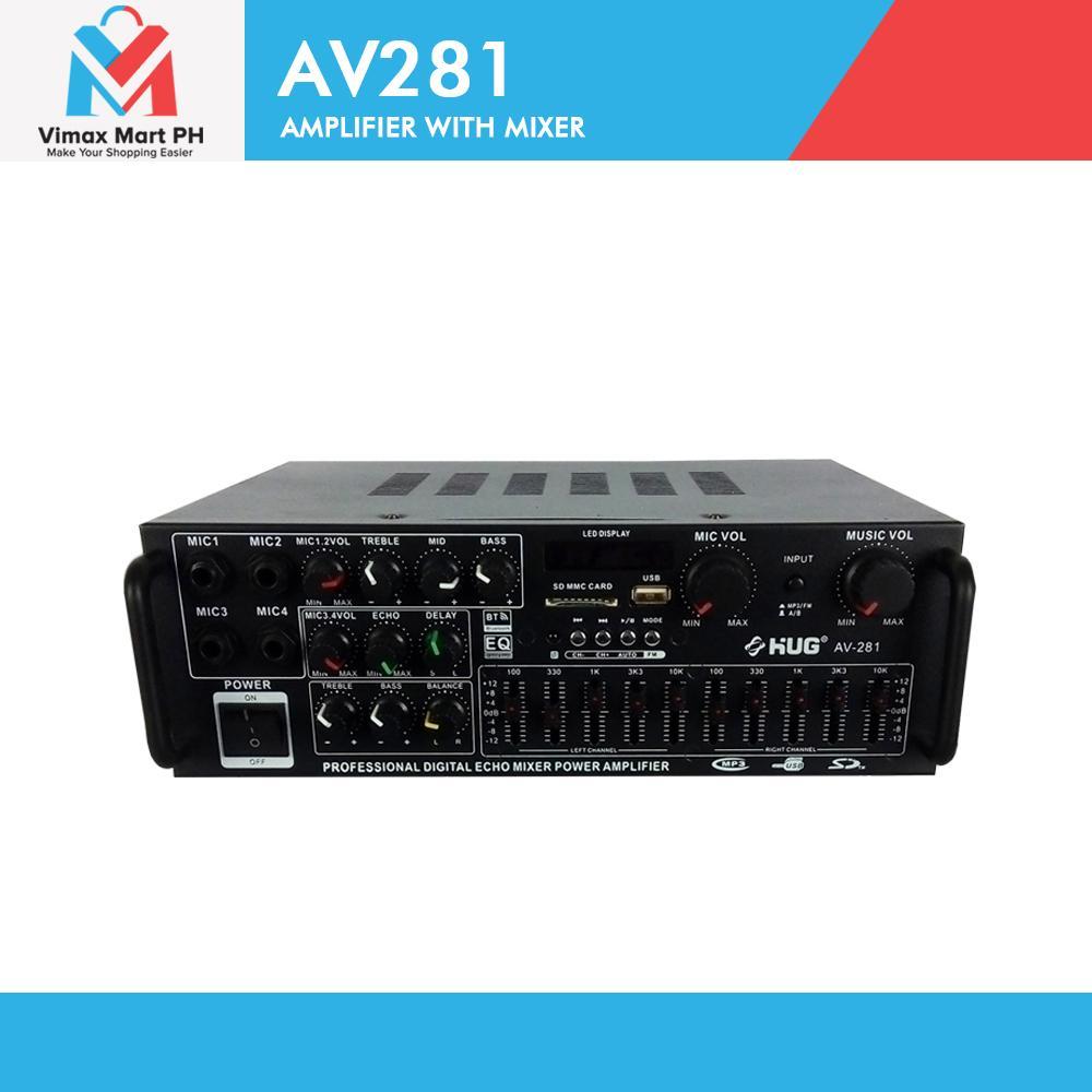 HUG AV281 300 Watts Amplifier with Mixer
