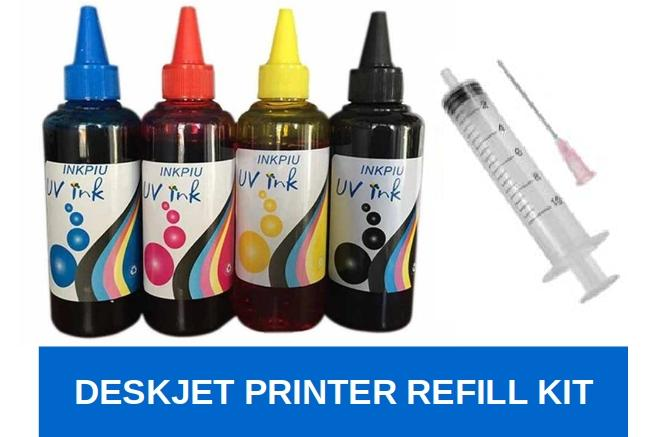 Refill Kit For Deskjet Printers By Univink.
