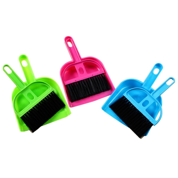 Mini Car Keyboard Cleaning Whisk Broom Dustpan Set giá rẻ