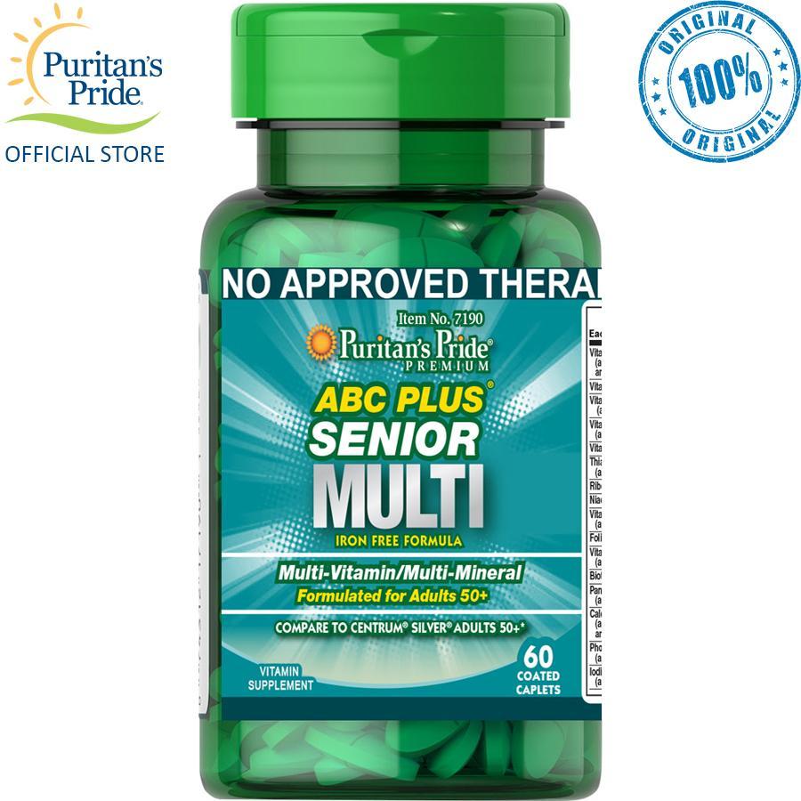 Puritan's Pride ABC Plus Senior Multivitamin 60 capsules