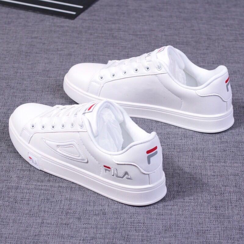 2020 New FILA white shoes low cut shoes