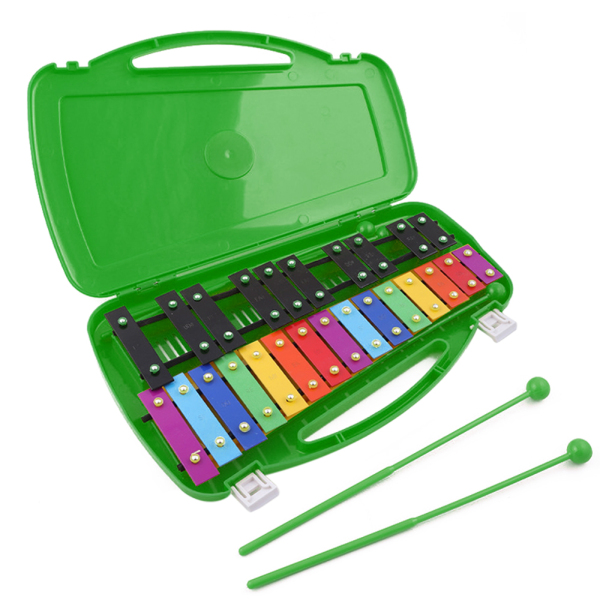 Kids Percussion Musical Instruments Hand Knock Xylophone 25-Tone Child Struck Piano Preschool Educational Toy