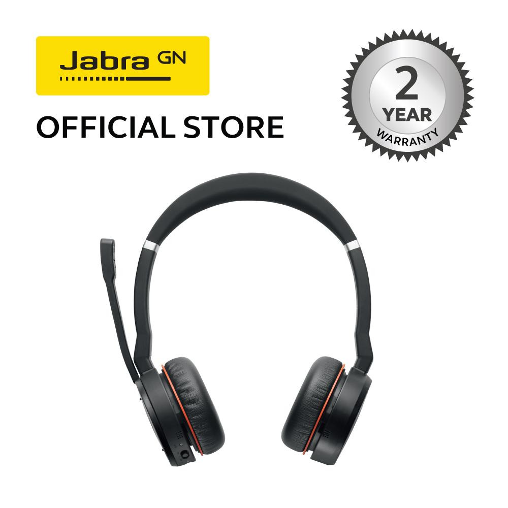 Jabra Evolve 75 Ms Wireless Active Noise Cancelling Headset With Link 370 Usb Adapter Lazada Ph