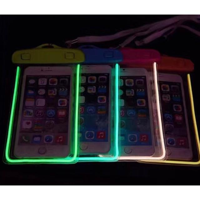 Water Proof Pouch (glowing In Dark) By Top1shop.