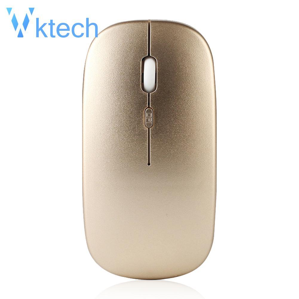 5a349692f6e [Vktech] W8 2.4G Wireless Rechargeable Thin Silent Mouse 1600DPI 4 Keys Optical  Mice