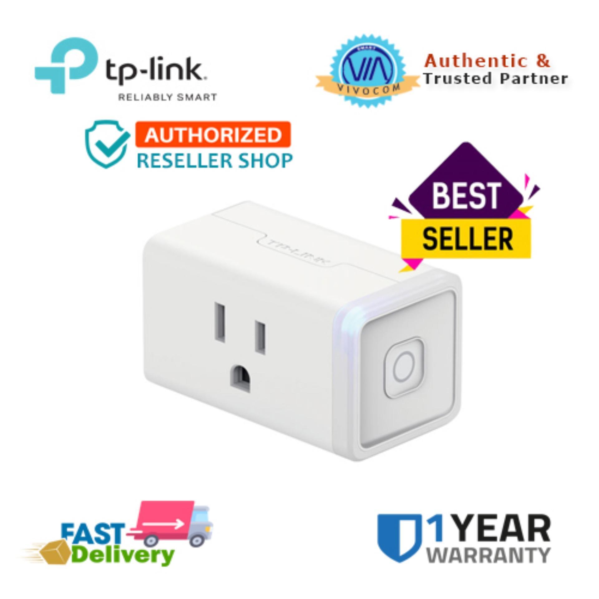 Tp-Link Hs105 Smart Wi-Fi Plug Mini By Vivocom Technologies Inc
