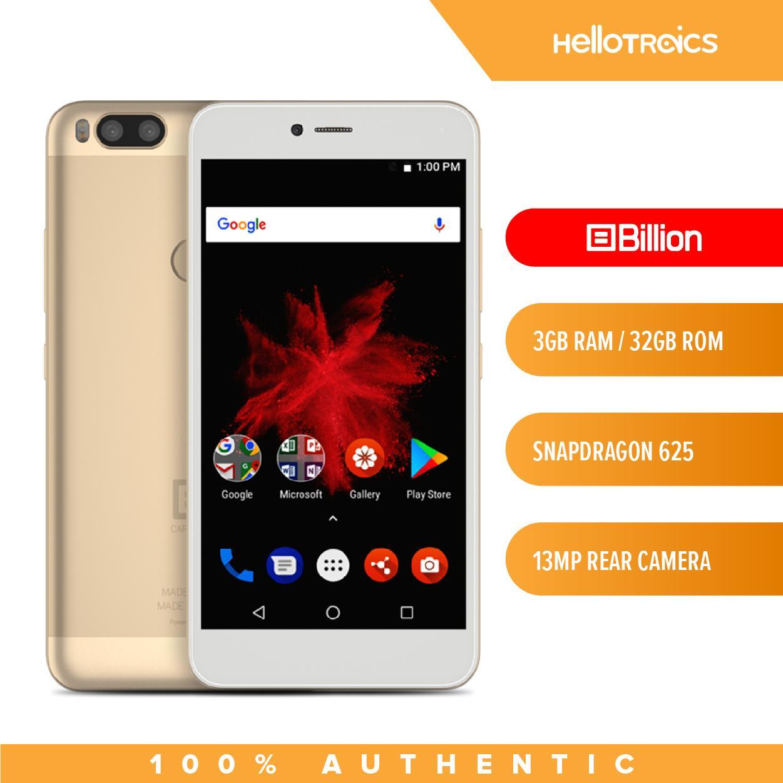 Billion Capture Plus HS117 3GB RAM 32GB ROM Qualcomm Snapdragon Mobile  Phone (Gold)