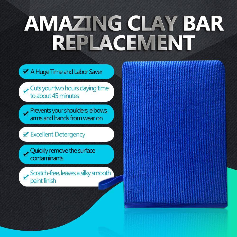 Fine Grade Magic Car Washing Clay Mitt Car Wash Clay Gloves Clay Bar Clay Towel