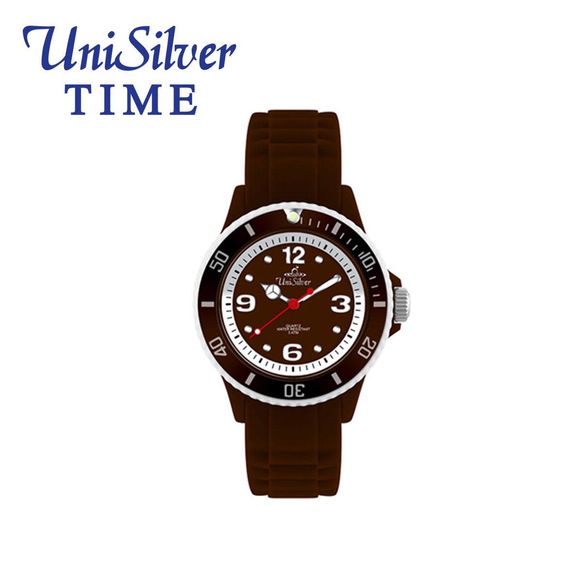 UniSilver TIME Color Craze Analog Unisex Watch KW1529-1004 (Brown) - thumbnail ...