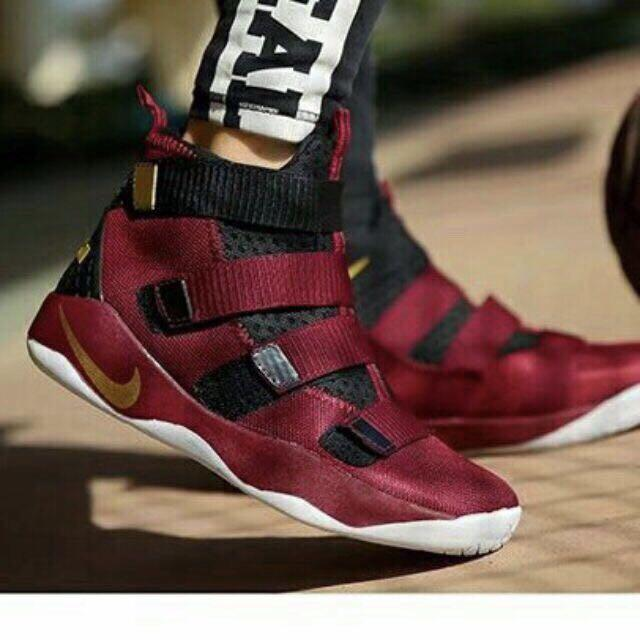 new concept 7e9cf 418a8 NIKE Lebron James SOLDIER 11 Basketball Shoes MEN WARRIOR EUR SIZE 41-42-43