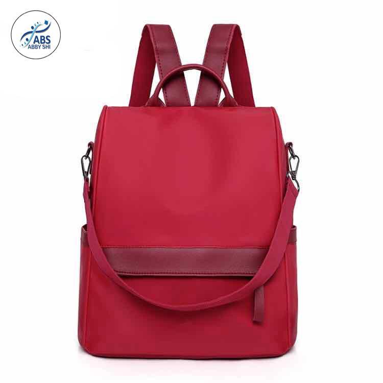 ABS ABSL  562 Preppy Style Oxford Cloth Backpack For Women Waterproof Large Backpacks  Female School Shoulder 154ddc7addecf