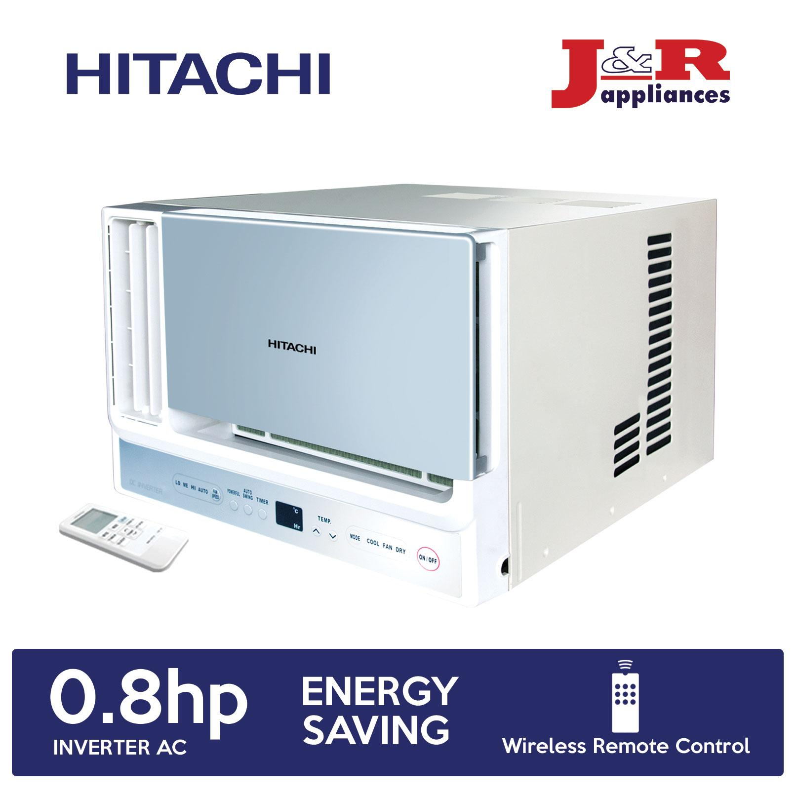 Hitachi RA-08HSV Window 0 8HP Compact Inverter Aircon