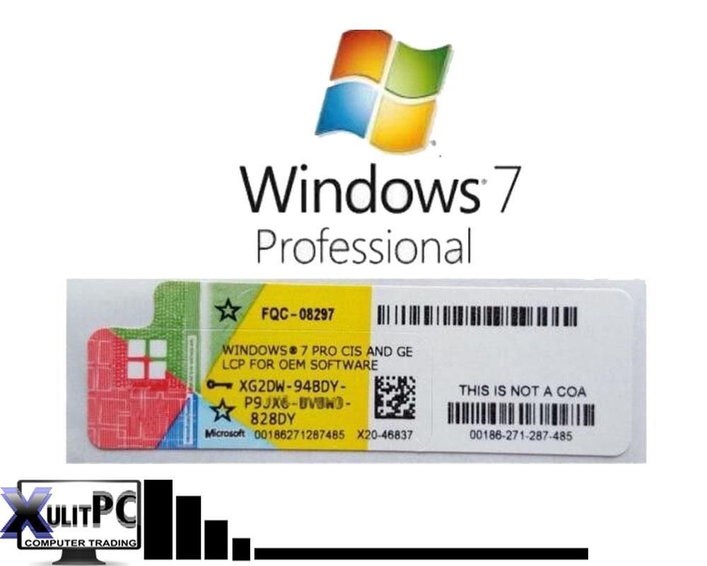 microsoft 7 professional product key