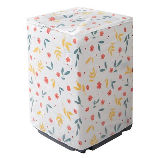 Fashionline Waterproof Washing Machine Cover Transparent Pattern Printing Dust proof