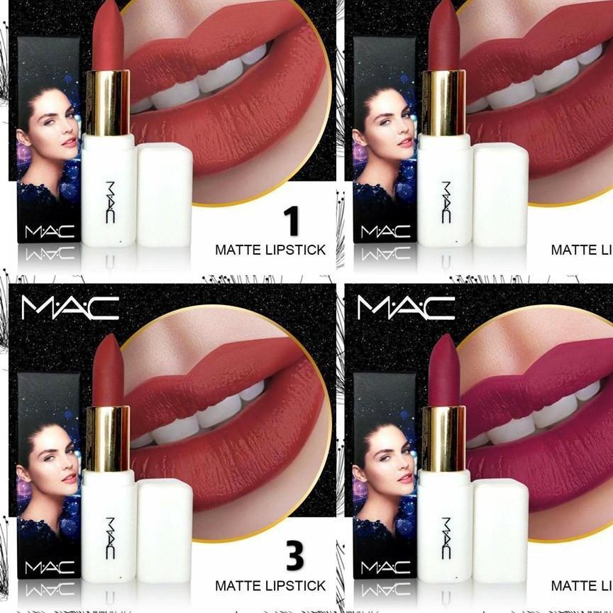 Mac New White Matte Lipstick By Real Kolections.