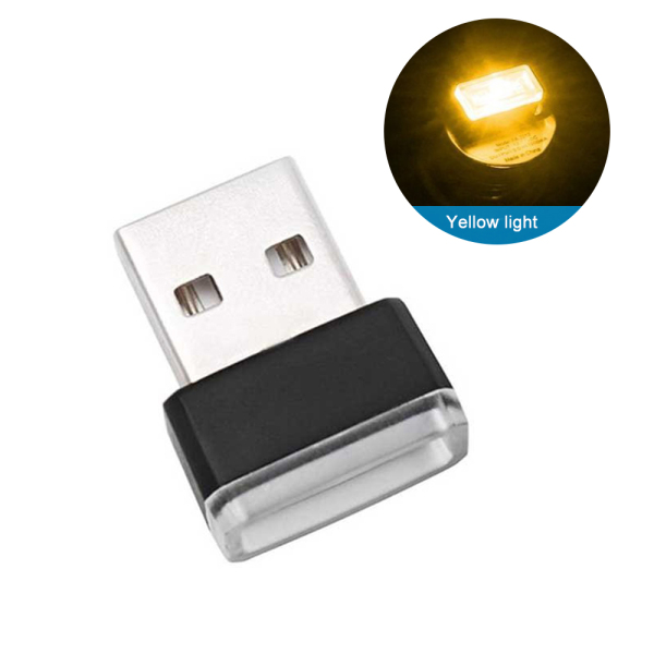 Bảng giá ✅PangYa- 5 Cái Đèn LED Usb Mini Xe Đầy Màu Sắc Môi Trường Xung Quanh Ánh Sáng Đèn Nội Thất Neon Ban Đêm, Trang Sức Nội Thất Xe Hơi Đèn Giao Diện Usb Di Động Phong Vũ