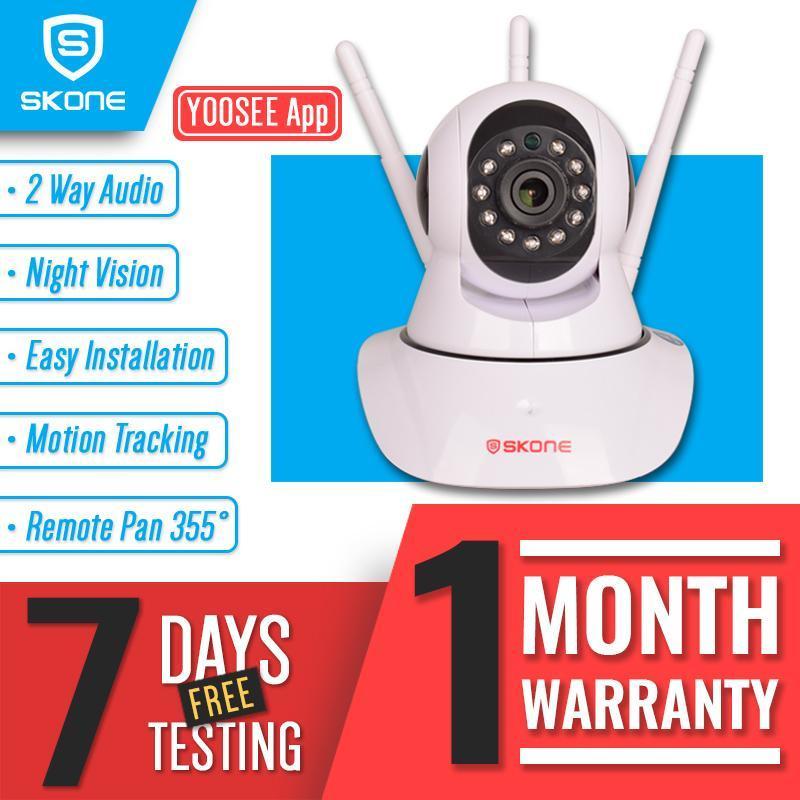 Yoosee Smart Home WIFI IP Camera SKONE CCTV Triple Antenna
