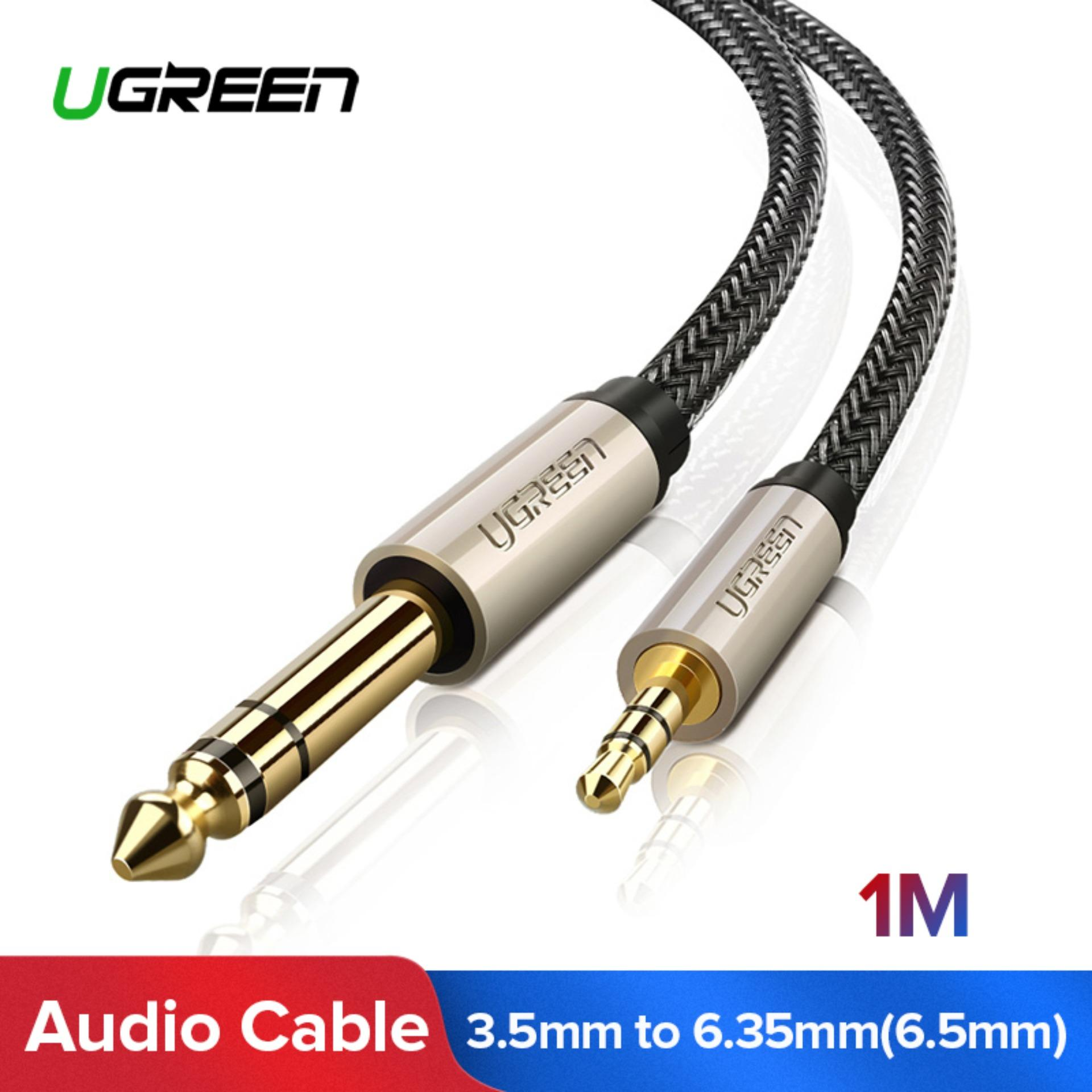 Audio Cable For Sale Hdmi Prices Brands Specs In Xlr Wiring Multiple Speakers Ugreen 1meter 35mm To 635mm Adapter Aux Mixer Amplifier Cd Player Speaker