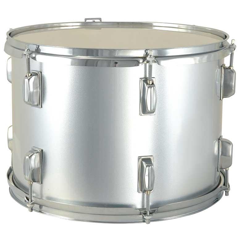Global Drums Marching Tenor Drum GLTD-712 - Silver Color