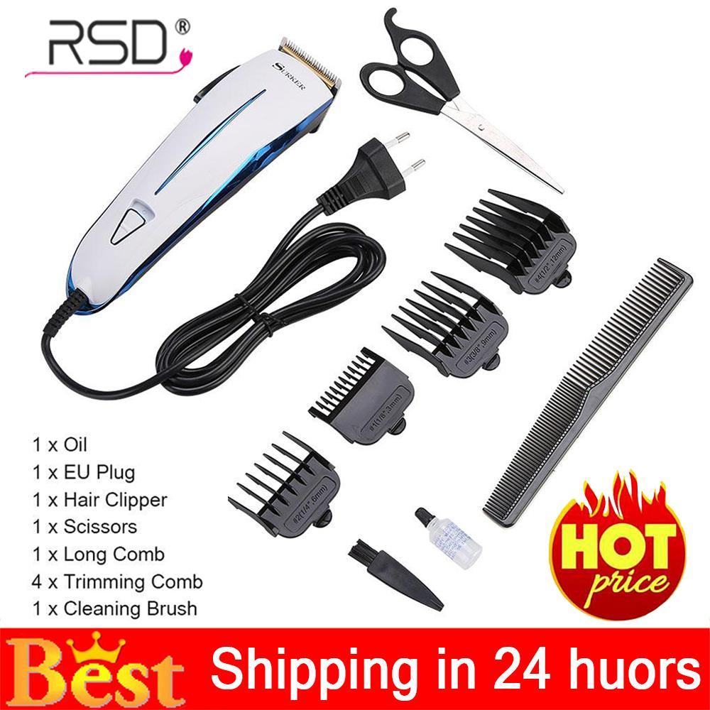 【Ready Stock-Fast Delivery】 Surker Hair Cutting Kit Professional Hair Clipper Adult Child