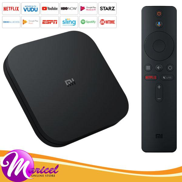 Xiaomi Smart Android TV Box S 4K V8 1 HDR Latest Edition International  Version