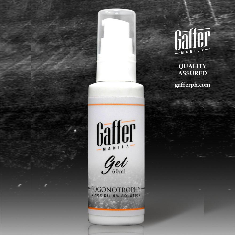 Gaffer Minoxidil Gel 60ml By Gaffer Manila.