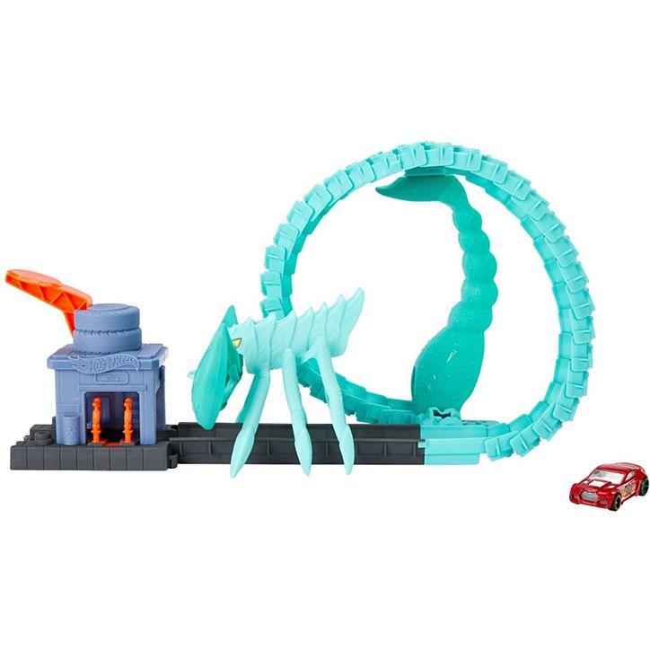 Hot Wheels City Nemesis Asst│Kid/'s Toy car Play Set│Attack Workshop Kit│3y+