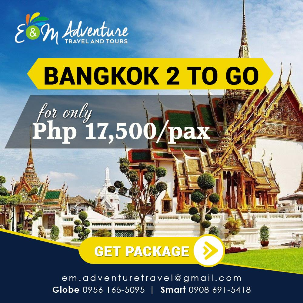 Bangkok 2 To Go 4days 3 Nights Package By Em Tours.