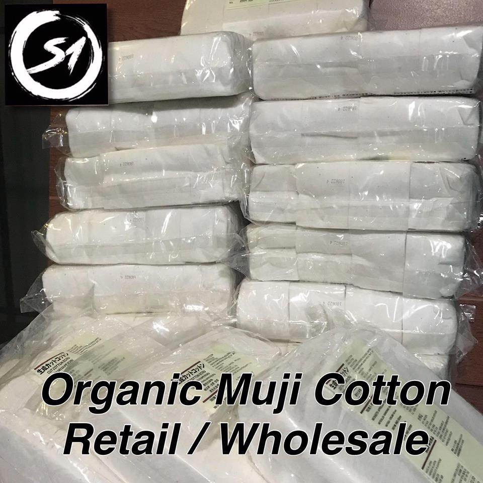 MUJI Organic Cotton Pack 180pads / 10pads / wholesale and retail