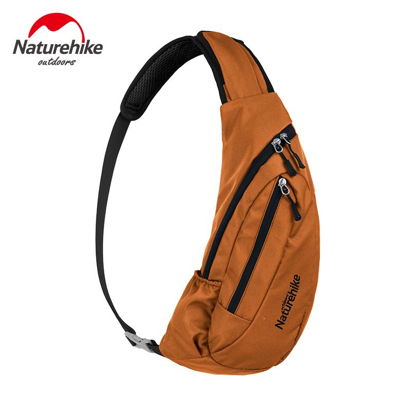 Naturehike Outdoor Shoulder bag leisure tourism fitness Sports bag Large capacity chest pack riding backpack NH23X008