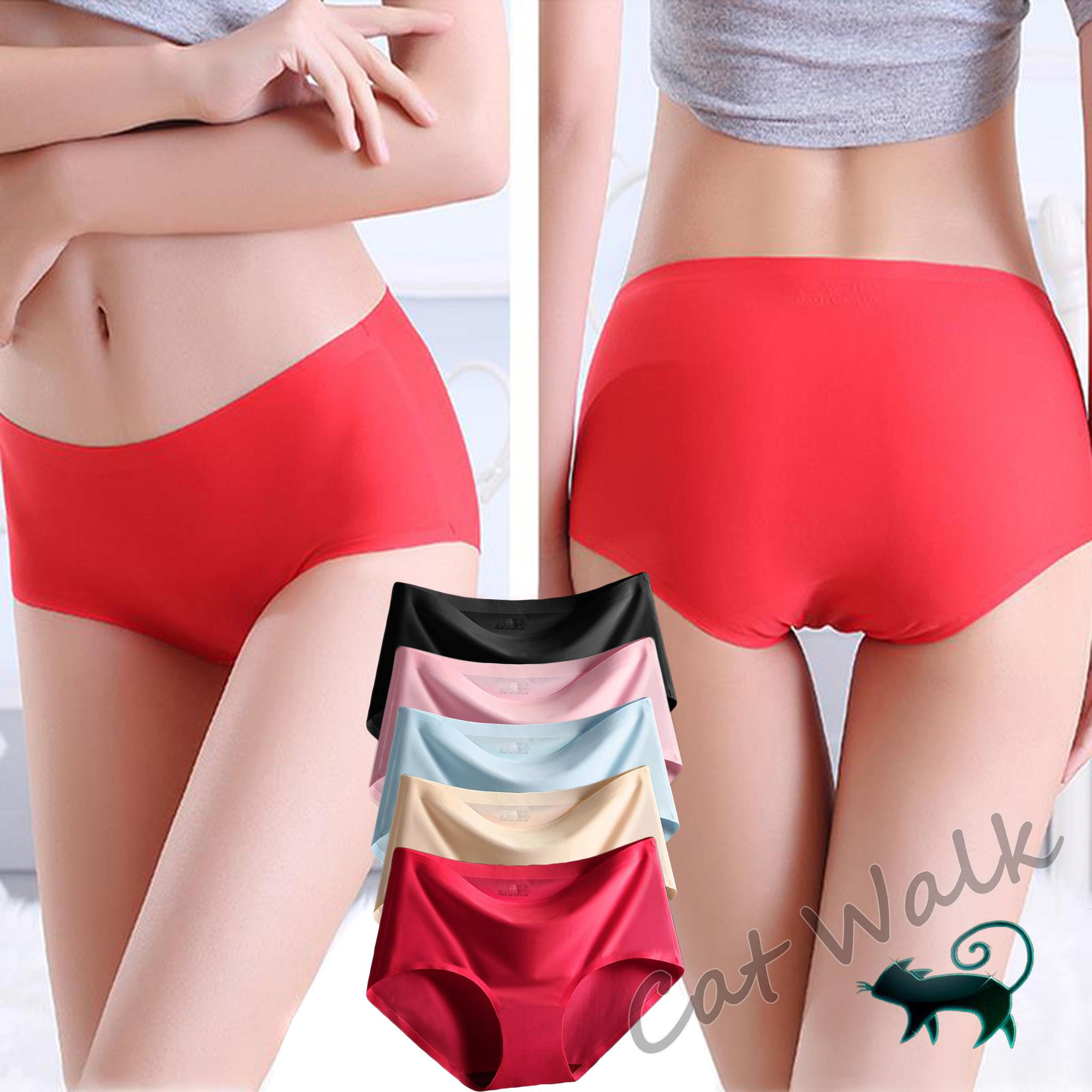 Underwear & Sleepwears Humor Women Anti-bacteria Seamless Underwear Sports Wear Ladies Mid Waist Underwear Pants Boxers Elastic Hip Lift