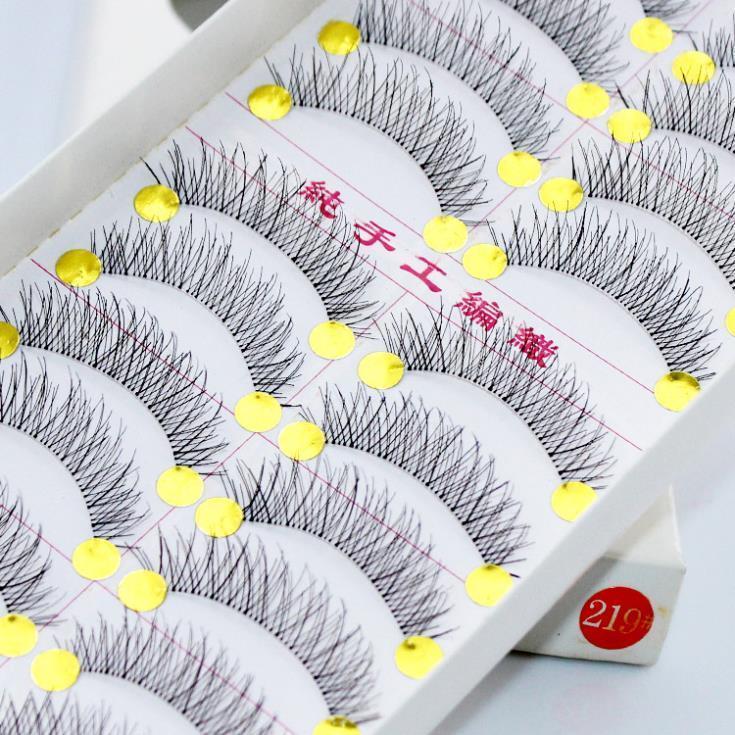Taiwan False Eyelashes 10pairs/1box (219) By Anny.