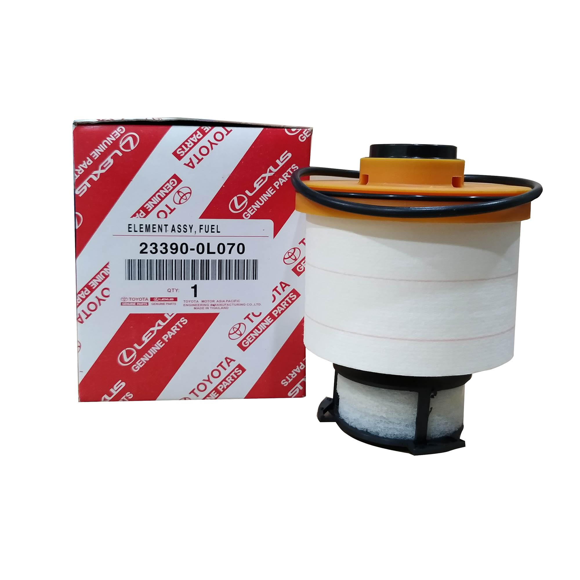 toyota genuine parts fuel filter 23390-0l070 for toyota fortuner ( 2016 - )  /